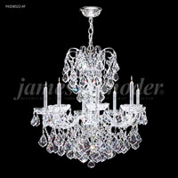 James R. Moder 94208S22-XF Vienna 8 Light 26 inch Silver Crystal Chandelier Ceiling Light