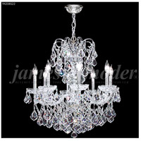 James R. Moder 94208S22 Vienna 8 Light 26 inch Silver Crystal Chandelier Ceiling Light