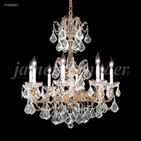 James R. Moder 94328GB11 Madrid 8 Light 27 inch Gold-Brown Patina Chandelier Ceiling Light