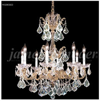James R. Moder 94328GB0T Madrid 8 Light 27 inch Gold-Brown Patina Chandelier Ceiling Light