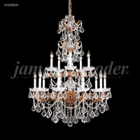 James R. Moder 94329BZ00 Madrid 15 Light 37 inch Bronze Entry Chandelier Ceiling Light
