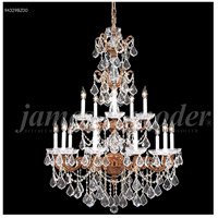 Madrid 15 Light 37 inch Bronze Entry Chandelier Ceiling Light