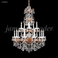 Madrid 15 Light 37 inch Gold-Brown Patina Entry Chandelier Ceiling Light