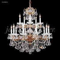 James R. Moder 94340BZ11 Madrid 15 Light 33 inch Bronze Chandelier Ceiling Light