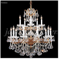 Madrid 15 Light 33 inch Gold-Brown Patina Chandelier Ceiling Light