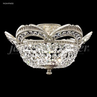 James R. Moder 94344PW00 Dynasty Cast Brass Collection 3 Light 17 inch Pewter Flush Mount Ceiling Light