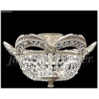 James R. Moder 94344PW11 Dynasty Cast Brass Collection 3 Light 17 inch Pewter Flush Mount Ceiling Light
