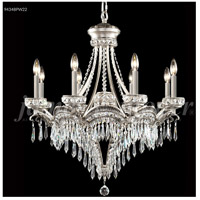 James R. Moder 94348PW11-55 Dynasty 9 Light 30 inch Pewter Chandelier Ceiling Light