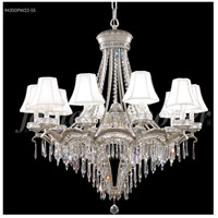 James R. Moder 94350PW22-55 Dynasty 13 Light 34 inch Pewter Chandelier Ceiling Light