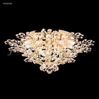 James R. Moder 94455G00 Florale 14 Light 27 inch Gold Flush Mount Ceiling Light