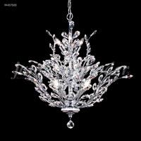 James R. Moder 94457S00 Florale 13 Light 27 inch Silver Crystal Chandelier Ceiling Light