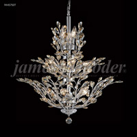 Florale 13 Light 27 inch Silver Chandelier Ceiling Light