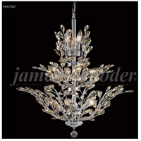 James R. Moder 94457S0T Florale 13 Light 27 inch Silver Chandelier Ceiling Light