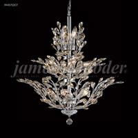 James R. Moder 94457S2GT Florale 13 Light 27 inch Silver Chandelier Ceiling Light