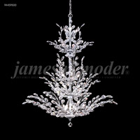 James R. Moder 94459S00 Florale 26 Light 38 inch Silver Entry Chandelier Ceiling Light