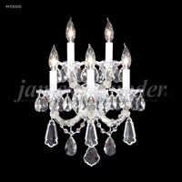 James R. Moder 94705S00 Maria Theresa Royal Collection 5 Light Silver Wall Sconce Wall Light Royal