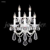 James R. Moder 94705S11 Maria Theresa Royal 5 Light 14 inch Silver Wall Sconce Wall Light Royal
