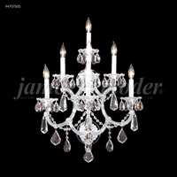 James R. Moder 94707S00 Maria Theresa 7 Light Silver Wall Sconce Wall Light, Royal photo thumbnail