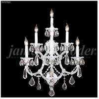 Maria Theresa 7 Light Silver Wall Sconce Wall Light, Royal