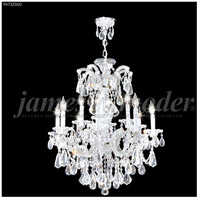 James R. Moder 94732S00 Maria Theresa Royal Collection 12 Light 26 inch Silver Chandelier Ceiling Light Royal