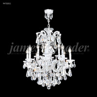 James R. Moder 94732S11 Maria Theresa Royal 12 Light 26 inch Silver Crystal Chandelier Ceiling Light Royal