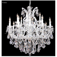 James R. Moder 94738S11 Maria Theresa Royal Collection 19 Light 37 inch Silver Chandelier Ceiling Light Royal