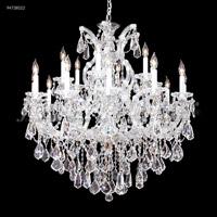James R. Moder 94738GL22 Maria Theresa 19 Light 37 inch Gold Lustre Chandelier Ceiling Light Royal