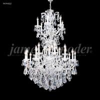 James R. Moder 94744GL00 Maria Theresa 25 Light 37 inch Gold Lustre Entry Chandelier Ceiling Light Royal
