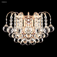 James R. Moder 94802G11 Jacqueline Collection 2 Light Gold Wall Sconce Wall Light