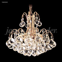 James R. Moder 94803G00 Jacqueline Collection 3 Light 12 inch Gold Pendant Ceiling Light