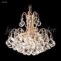 James R. Moder 94803G11 Jacqueline 3 Light 12 inch Gold Mini Chandelier Ceiling Light