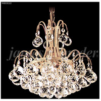 James R. Moder 94803S11 Jacqueline 3 Light 12 inch Silver Mini Chandelier Ceiling Light