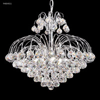 James R. Moder 94804S11 Jacqueline Collection 7 Light 20 inch Silver Chandelier Ceiling Light