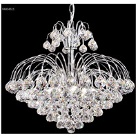 James R. Moder 94804S11 Jacqueline 7 Light 20 inch Silver Mini Chandelier Ceiling Light