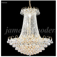 James R. Moder 94805G00 Jacqueline Collection 11 Light 24 inch Gold Chandelier Ceiling Light
