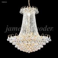 James R. Moder 94805G11 Jacqueline 11 Light 24 inch Gold Chandelier Ceiling Light