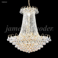 James R. Moder 94805S22 Jacqueline Collection 11 Light 24 inch Silver Chandelier Ceiling Light