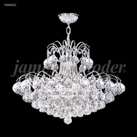 James R. Moder 94808S22 Jacqueline Collection 16 Light 26 inch Silver Chandelier Ceiling Light