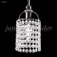 James R. Moder 94840S11 Tekno Mini 1 Light 4 inch Silver Mini Pendant Ceiling Light