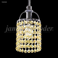 James R. Moder 94840S2E Tekno Mini Collection 1 Light 4 inch Silver Pendant Ceiling Light