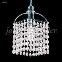 James R. Moder 94860S11 Tekno Mini 1 Light 6 inch Silver Crystal Chandelier Ceiling Light