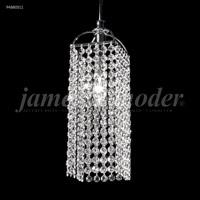 James R. Moder 94880S11 Tekno Mini 1 Light 6 inch Silver Crystal Chandelier Ceiling Light