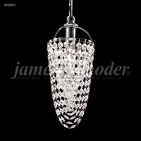 James R. Moder 94920S11 Tekno Mini 1 Light 4 inch Silver Mini Pendant Ceiling Light