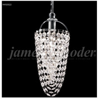 James R. Moder 94920S22 Tekno Mini 1 Light 4 inch Silver Mini Pendant Ceiling Light