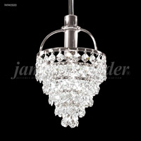 James R. Moder 94940S00 Tekno Mini 1 Light 5 inch Silver Mini Pendant Ceiling Light