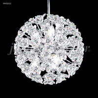 James R. Moder 94950S11 Tekno Mini 6 Light 8 inch Silver Mini Pendant Ceiling Light