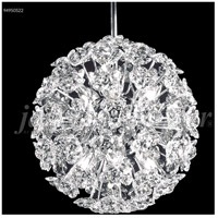 James R. Moder 94950S22 Tekno Mini 6 Light 8 inch Silver Mini Pendant Ceiling Light