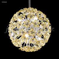 James R. Moder 94950S2E Tekno Mini 6 Light 8 inch Silver Mini Pendant Ceiling Light