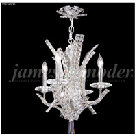 James R. Moder 95634S00 Eclipse Fashion 4 Light 16 inch Silver Mini Chandelier Ceiling Light