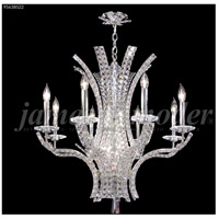 James R. Moder 95638S22 Eclipse Fashion 8 Light 28 inch Silver Chandelier Ceiling Light